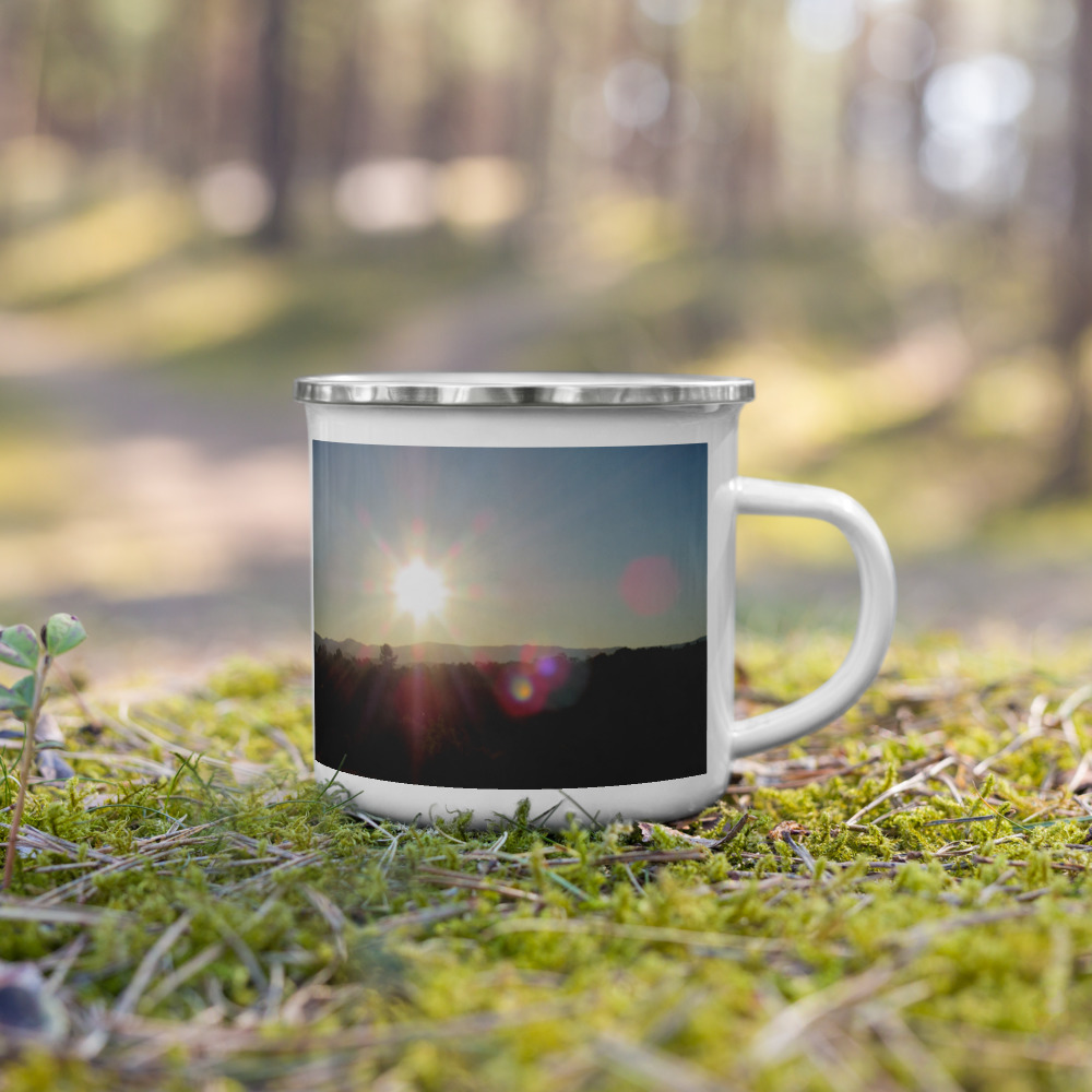 Soul Food Enamel Mug by the wonder Dawg