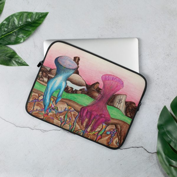Cold Fire Laptop Sleeve by the wonder Dawg